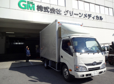 Green Medical operates ten trucks